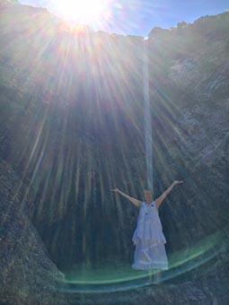 Inaara m Wasserfall